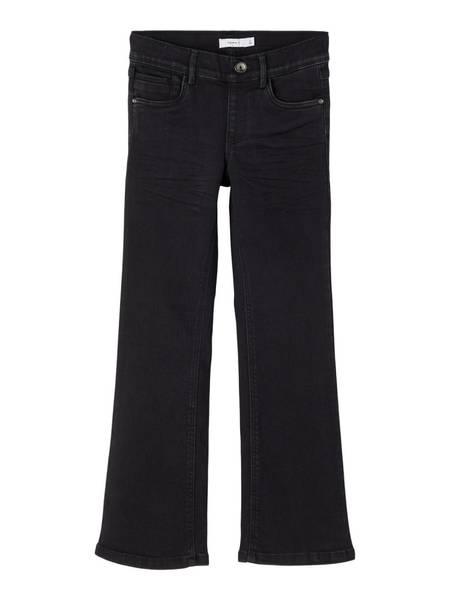 Name it, Nkfpolly svart bootcut legging