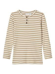 Bilde av Name it, Nmmtartu beige stripete genser